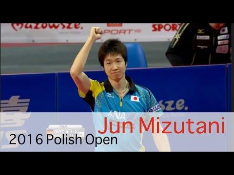 2016 Polish Open Jun Mizutani Great points | Highlights | Champion