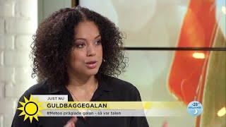 Hon skrev #tystnadtagning-talet under Guldbaggegalan: