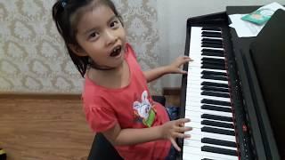 Piano Trên Thế Gian Này chỉ có mẹ là tốt nhất - Gia Hân 6 tuổi