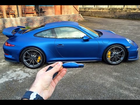 Wrapping My Porsche 991 GT3 Blue by Signature Group
