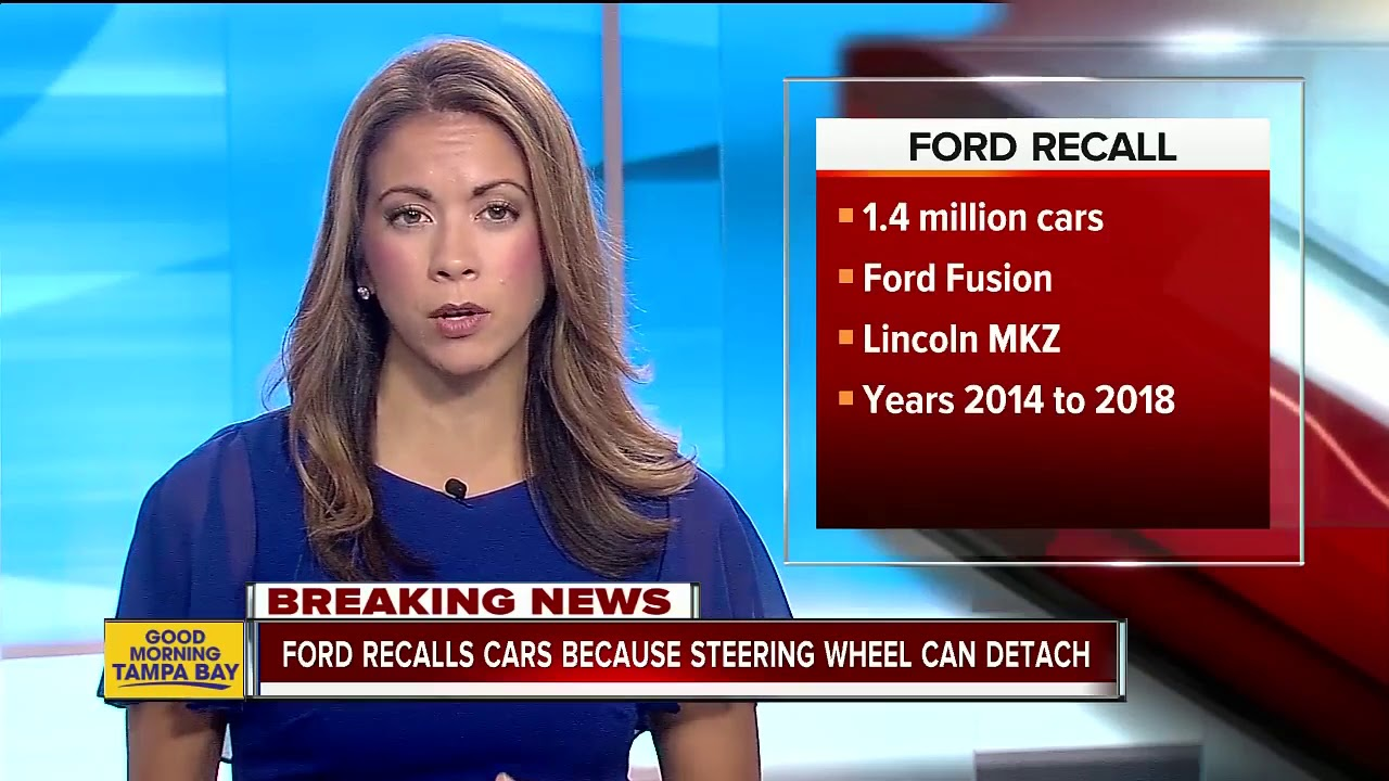 Ford Recalls Almost 1 4m Cars Steering Wheel Can Detach From Column