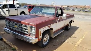 New Project - 1977 Chevy C20 Bonanza 3/4 Ton Truck
