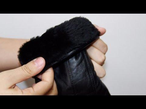 #Aliexpress - лучшее. Кожаные мужские перчатки (купить недорого)