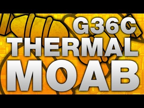 MW3: G36C Thermal MOAB (Modern Warfare 3 Gameplay/Commentary)