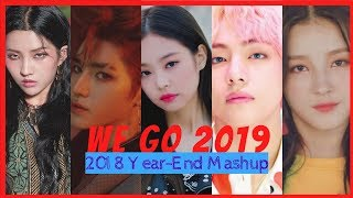 [MEGA-MASHUP] We Go 2019! (36 SONGS)