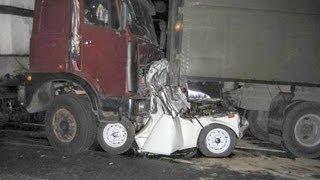 [18+] Подборка Аварий Грузовиков 2 - Crash Truck Accident Compilation 2