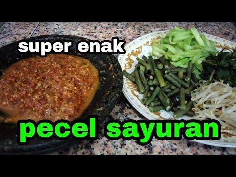 Resep Pecel Sayuran Super Enak Dan Praktis Ala Bunda Annis