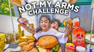 NOT MY ARMS CHALLENGE PART2! (Laughtrip!) | Ranz and Niana