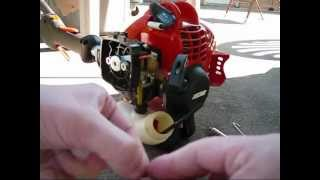 How to Replace a Fuel Grommet and Fuel Lines on a Echo 225 Series