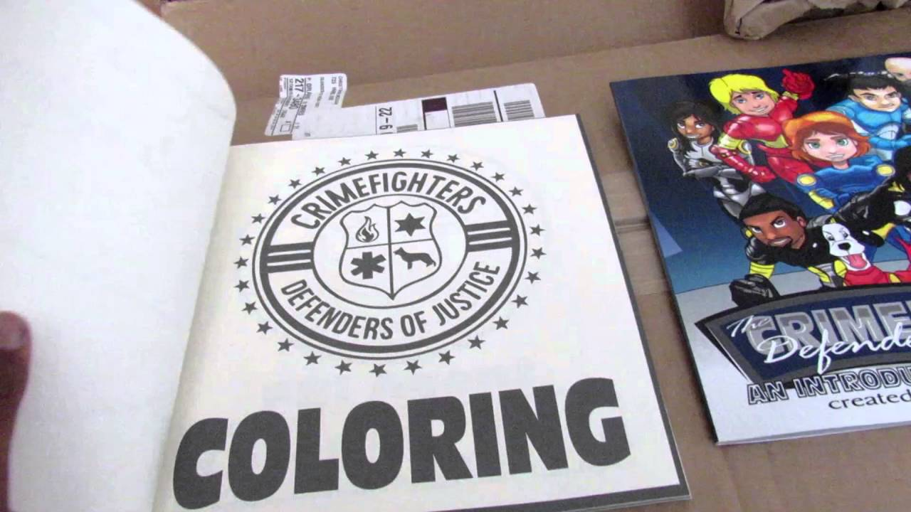 Createspace Coloring Book Unboxing - YouTube
