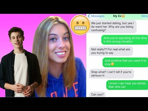 Pranking my EX BOYFRIEND with Shawn Mendes 'Treat...