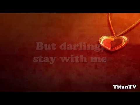 """Stay With Me"" Sam Smith (Lyrics On Screen) HD"