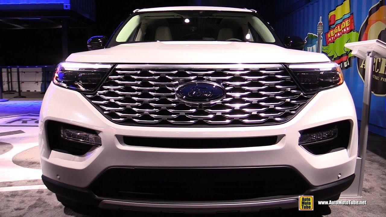 2020 Detroit Auto Show Debuts.2020 Ford Explorer Exterior And Interior Walkaround Debut At Detroit Auto Show 2019