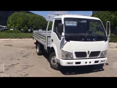 Бортовой грузовик JBC SY1041 DA5L до 3 тонн