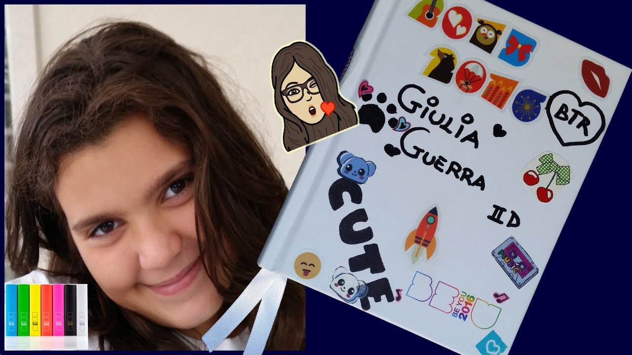 Back to school il mio diario be u review recensione youtube for Decorazione be u