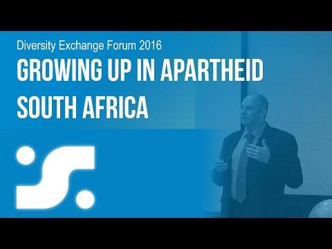 Diversity Exhange Forum 2016: Growing Up In Apartheid South Africa