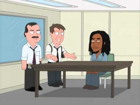Family Guy  Bob Marley shot the Sheriff