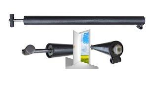 Доводчик пневматический Пример установки(Производим пневматические доводчики: - Масса двери до 150 кг (правая, левая). - Угол открывания до 110º. - Плавна..., 2015-11-01T08:31:19.000Z)