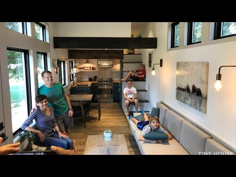 Extra Large and Beautiful 459sf Tiny Home for Sale in Texas