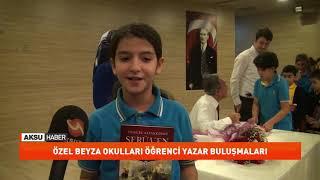 Beyza okulları öğrenci yazar buluşmaları