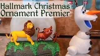Disney Hallmark Christmas Ornament Premiere 2019   July 14, 2019   Weekend Vlog  24
