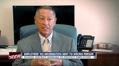 Employees' W2 information sent to wrong person