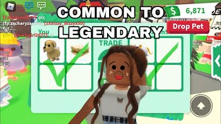 COMMON TO LEGENDARY (Roblox Adopt Me) | IzzyRoseRoblox