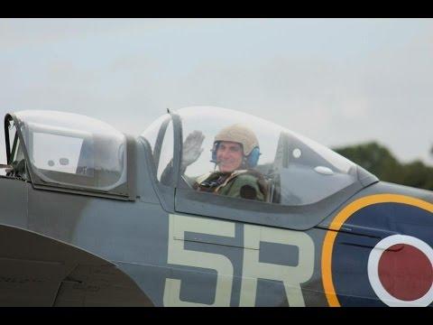 Martin Francis WW2 Fighter Pilot Training (Tiger Moth, Harvard & The Spitfire)