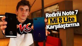 Redmi Note 7 ve Mi 8 Lite Karşılaştırma - En iyisi hangisi?