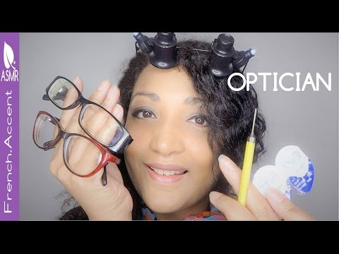 Optician session puts to bed a nation 😘 ASMR role play
