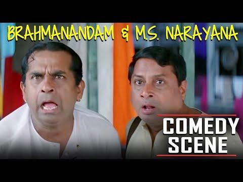 Brahmanandam & M.S. Narayana Hindi Dubbed Comedy Scene | Meri Zindagi Ek Agneepath Hilarious Scenes thumbnail
