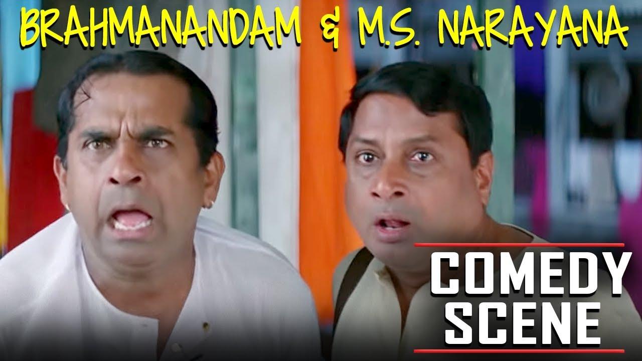 Brahmanandam & M.S. Narayana Hindi Dubbed Comedy Scene   Meri Zindagi Ek Agneepath Hilarious Sce