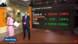 US Dollar versus Euro Vs Cryptocurrency Bloomberg News Update