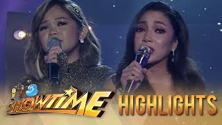 Gambar cover Janine Berdin and Jona serenade the Madlang People with their performance   It's Showtime
