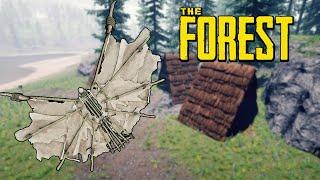CONSTRUÍMOS EL ALA DELTA - THE FOREST con el TEAM - ft Pepe, Inuya y GG Games #20