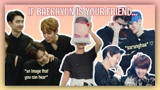 POV: BYUN BAEKHYUN IS YOUR FRIEND aka EVERYONE'S COMFORT PERSON   Red VelBaek