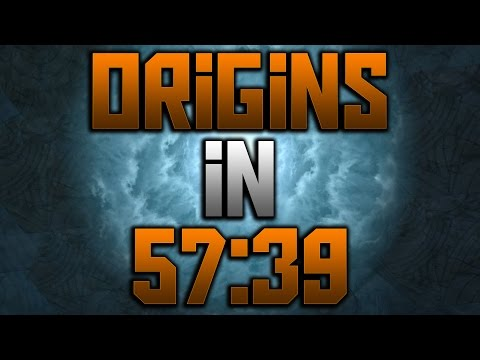 'Origins' Solo Easter Egg Speed Run 57:39 - 2nd Place (Black Ops 2 Zombies)