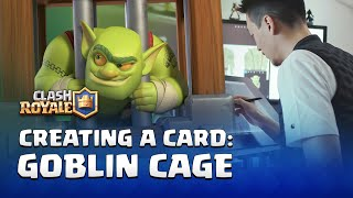 Clash Royale - Creating a Card: Goblin Cage! (Behind the Scenes Interviews)
