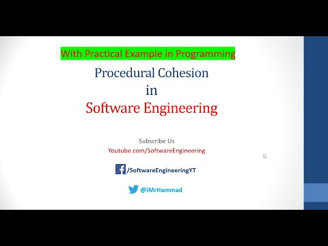 Types of Cohesion - Procedural Cohesion in Software Engineering Urdu/Hindi