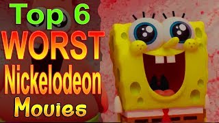 Top 6 Worst Nickelodeon Movies