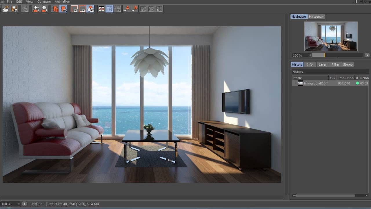 Cinema 4D R15 Global Illumination