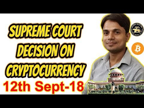 Supreme Court Decision on Cryptocurrency in India | Bitcoin Ban In India Hindi ?