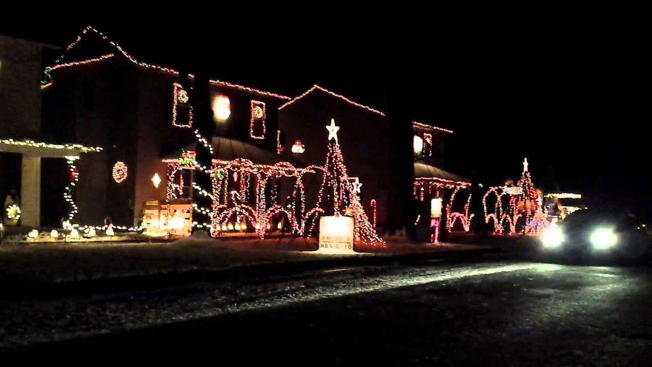 Christmas in Upper Sandusky Ohio - YouTube