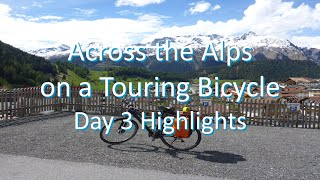 Across the Alps on a Touring Bicycle - Day 3 Highlights (Fuessen to Lake Garda)