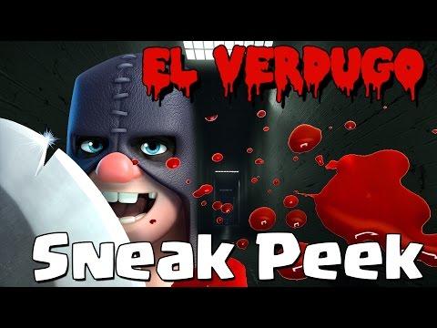 ¡¡EL VERDUGO!!  A CORTAR CABEZAS | Nueva Carta | Sneak Peek | Clash Royale con TheAlvaro845