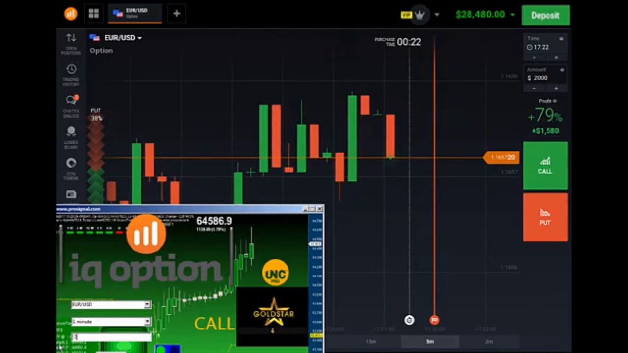 Binary options software