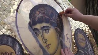 Изготовление икон из камня(Наш магазин http://cerkovna-utvar.com/ предлагает различные виды церковной утвари, в том числе и иконы. Изготовление..., 2014-12-30T22:19:03.000Z)
