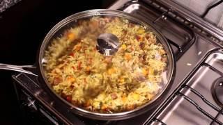 BAEtastic Fried Rice with Succulent Pork Chops  Things Kemi Cooks  Adventures Of Kemi Adetiba