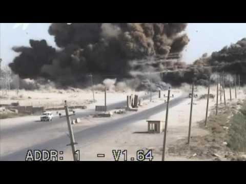Massive Truck Explosion