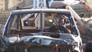Dresden Raceway | Dresden Spring Smash 2016 | Open Truck Demolition Derby